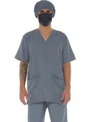 camisa bio-protección antifluido gris claro , racketball