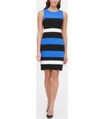 tommy hilfiger colorblock sheath dress