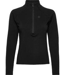 inga w 1/2 zip sweat-shirt tröja svart 8848 altitude