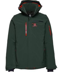 brilliant jkt m outerwear sport jackets groen salomon