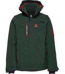 brilliant jkt m outerwear sport jackets groen salomon