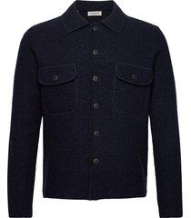 slhneal workwear cardigan w gebreide trui cardigan blauw selected homme