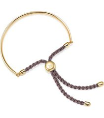 fiji friendship bracelet, gold vermeil on silver