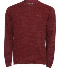 suéter opera rock tricot liso vinho