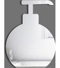 espelho decorativo saboneteira