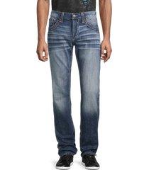 affliction men's ace apex slim-fit jeans - pagoda wash - size 40