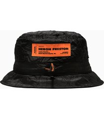 heron preston hp-trading crinkle cap hmlb005f21fab002
