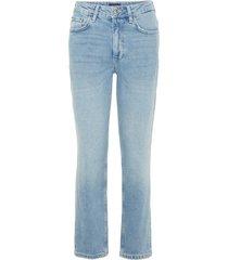 cropped jeans high-waist recht
