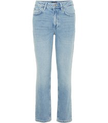 cropped jeans high-waist recht