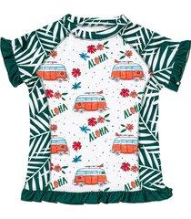 t-shirt kąpielowy z filtrem uv50+ monti
