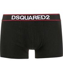 dsquared2 underwear slim fit boxers - black