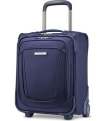 samsonite silhouette 16 softside under-seat wheeled carry-on