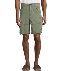 polo ralph lauren men's washed cargo shorts - army olive - size 40