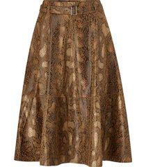 kjol vipines snakey hw midi skirt