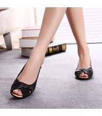 sandalias de mujer sandalias planas de gran tamaño para mujer