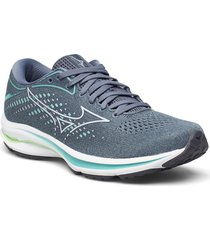 wave rider 25 shoes sport shoes running shoes grå mizuno