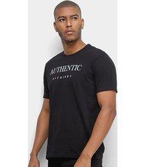 camiseta aleatory authentic masculina