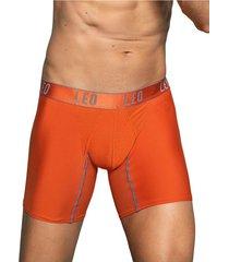 masculino interior boxer corto naranja leo 033326