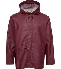 avon usx jkt outerwear rainwear rain coats röd didriksons