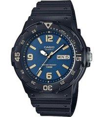 reloj casio mrw_200h_2b3vd negro resina