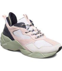 kanetyk suede w13 blush seagrass - låga sneakers multi/mönstrad arkk copenhagen