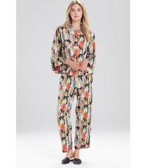 natori dynasty sleepwear pajamas & loungewear set, women's, size l natori