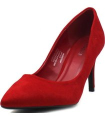 zapato tacon rojo gotta