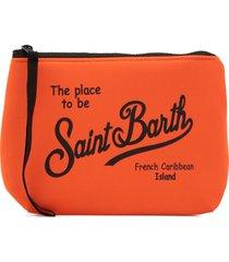 mc2 saint barth scuba fabric clutch