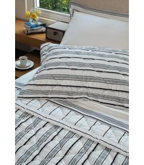 colcha com porta travesseiro matelada 300 fios stanford - scavone - branco - dafiti