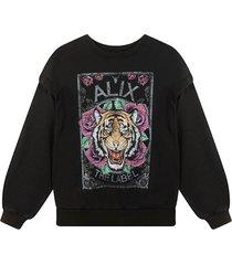 alix the label sweater zwart