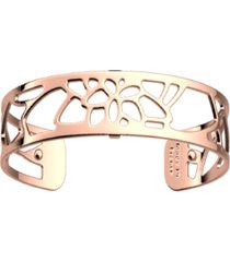 les georgettes by altesse openwork thin adjustable cuff nenuphar bracelet, 14mm, 0.5in