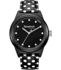 reloj negro reebok ladiesclassic r