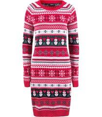 abito in maglia (rosso) - bpc bonprix collection