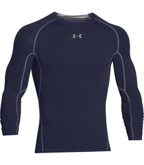 sueter under armour heatgear compression para hombre - azul oscuro