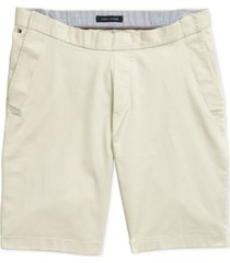 tommy hilfiger adaptive men's seated custom-fit shorts with velcro closure