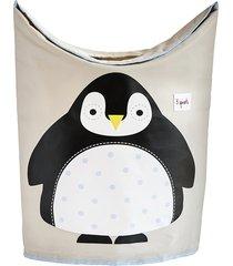 cesto de roupa pinguin 3 sprouts