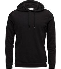 enno hoodie ls 7057 hoodie trui zwart samsøe & samsøe
