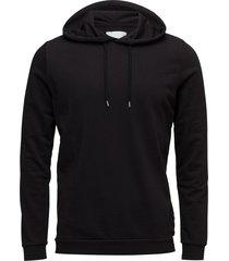 enno hoodie ls 7057 sweat-shirts & hoodies hoodies zwart samsøe & samsøe