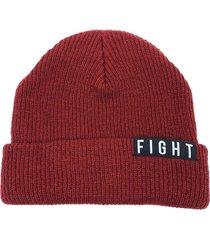 gorro de lana bordo fight for your right