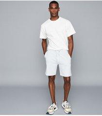 reiss belsay - jersey shorts in light blue, mens, size xxl
