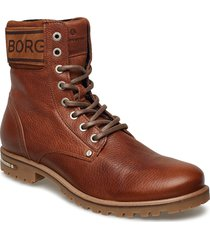 kevina high tmb w shoes boots ankle boots ankle boot - flat brun björn borg