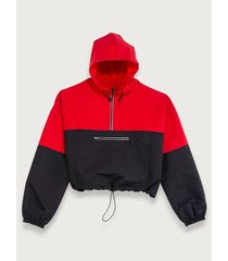 chaqueta bloque color para mujer freedom 01951