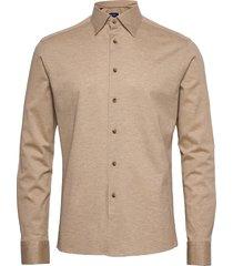 slim fit casual pique shirt overhemd casual bruin eton