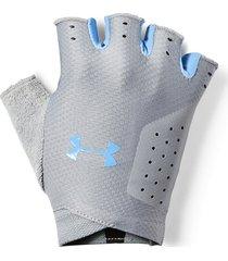 guantes under armour light para mujer - gris