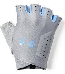 guantes under armour light para mujer - gris