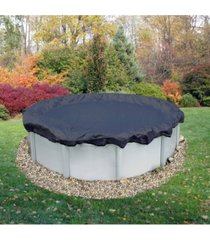 blue wave arcticplex above-ground 12' x 24' oval winter cover