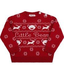 little bear red sweater for babykids