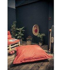 pufa siedzisko poduszka na podłogę xl czerwona