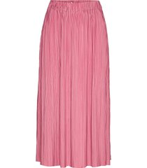 uma skirt 10167 maxirok lange rok roze samsøe samsøe