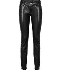 pantaloni in similpelle (nero) - bodyflirt